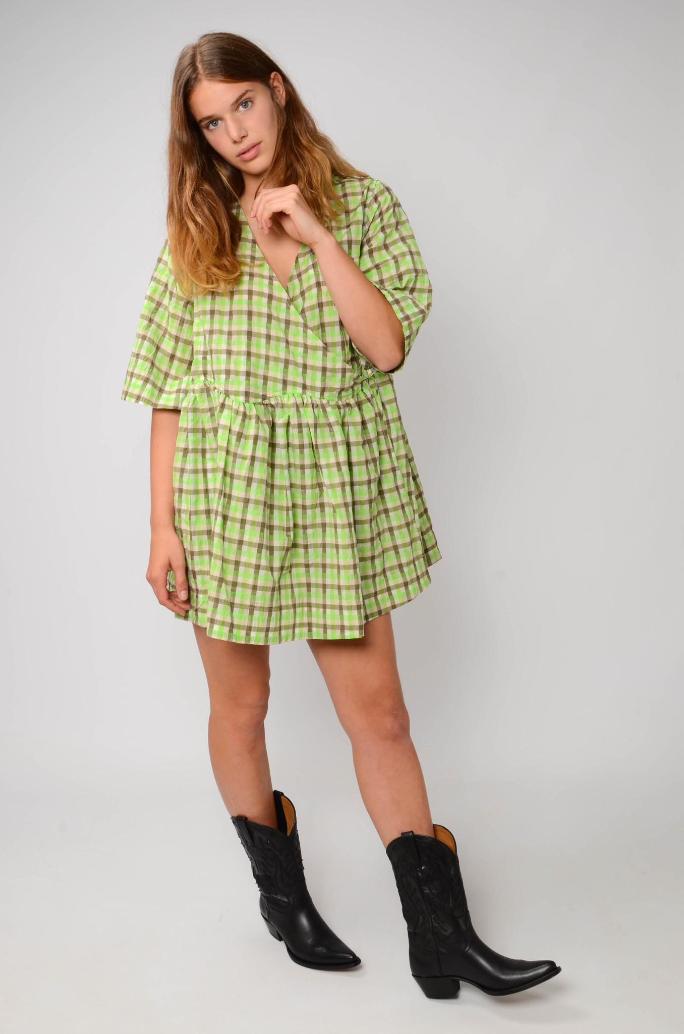 SEERSUCKER BABYDOLL DRESS-6