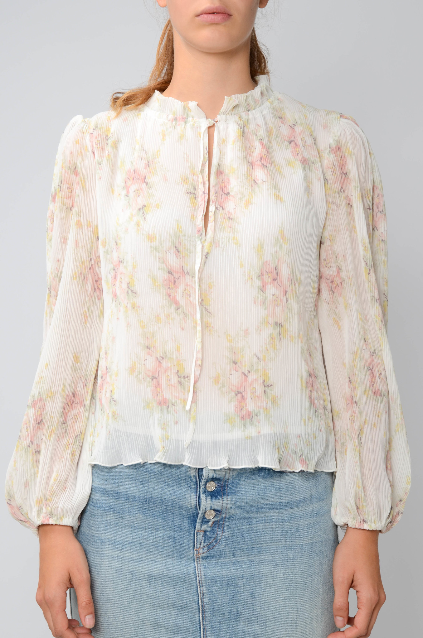 GEORGETTE PLEATED BLOUSE-3