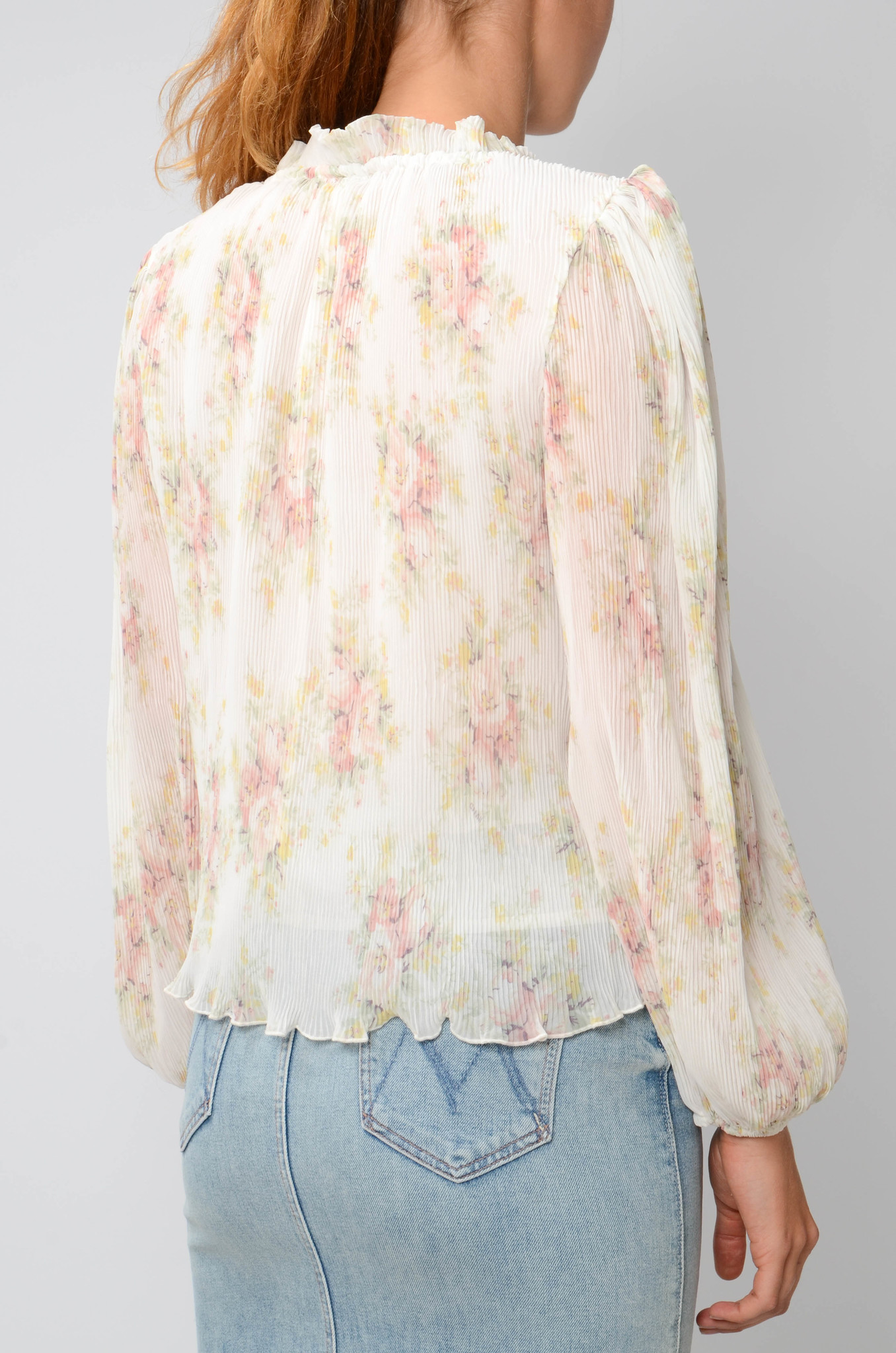 GEORGETTE PLEATED BLOUSE-5