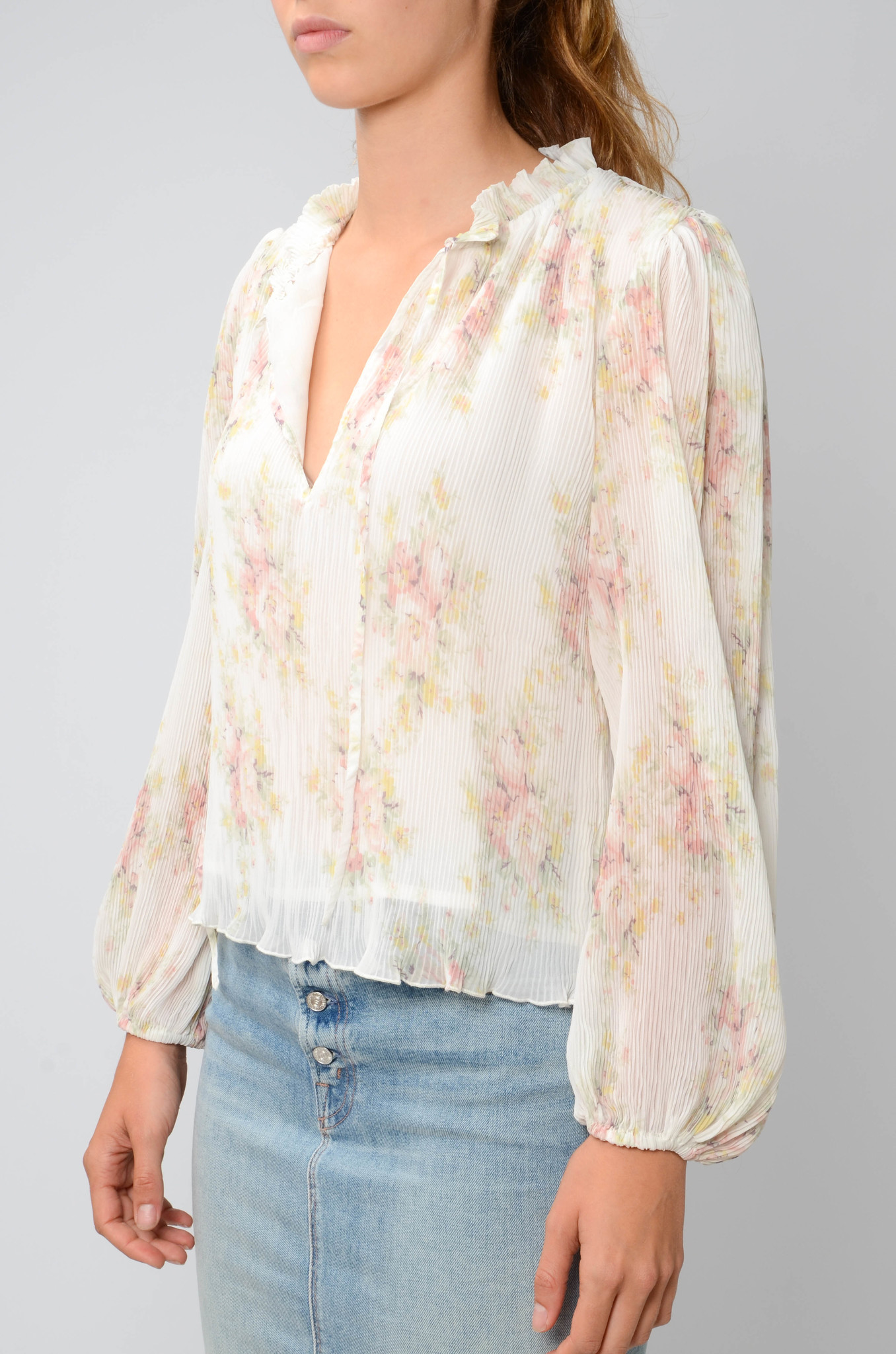 GEORGETTE PLEATED BLOUSE-4