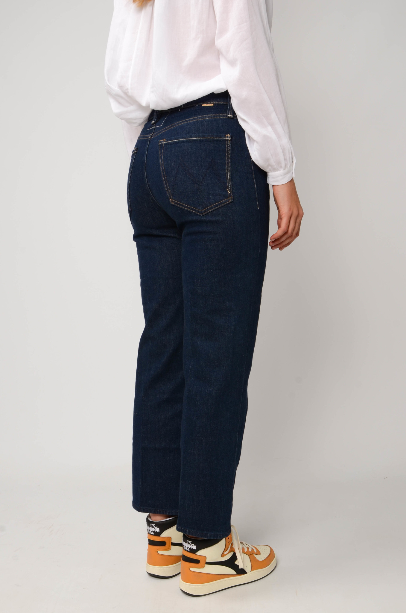 THE RAMBLER ANKLE JEANS  IN CLEAN UP-2