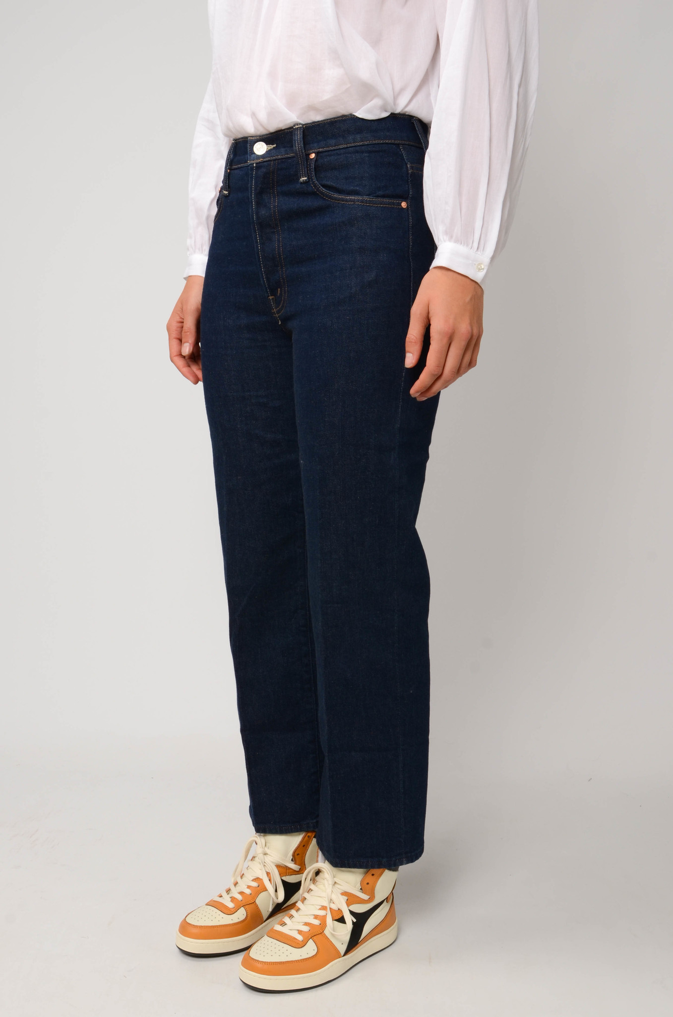THE RAMBLER ANKLE JEANS  IN CLEAN UP-3