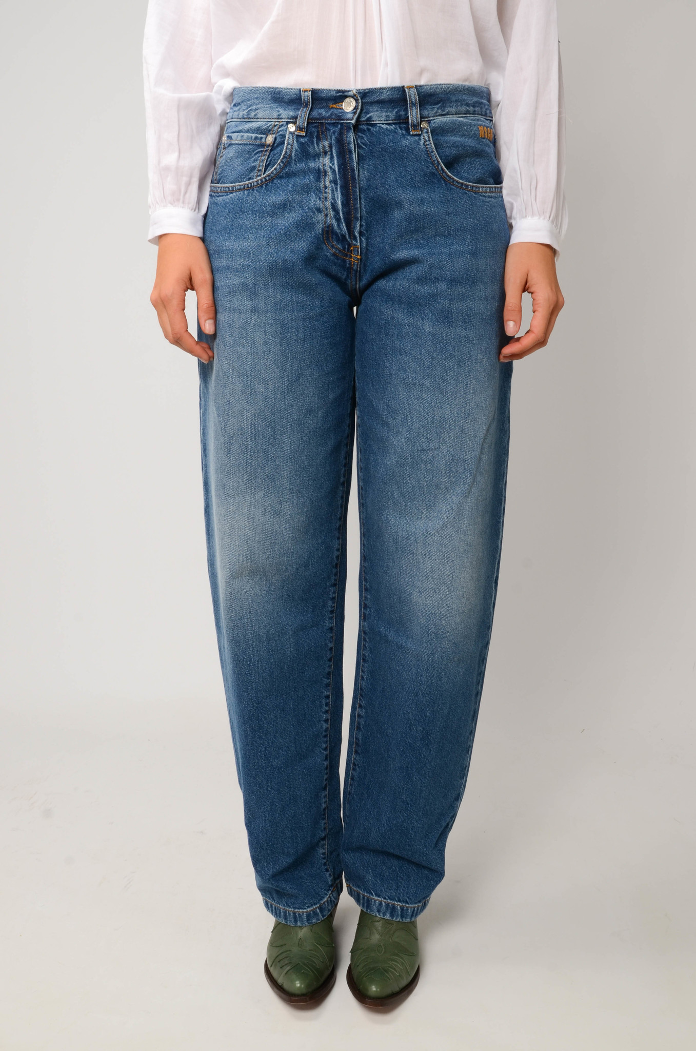 TAPERED MOM JEANS-1
