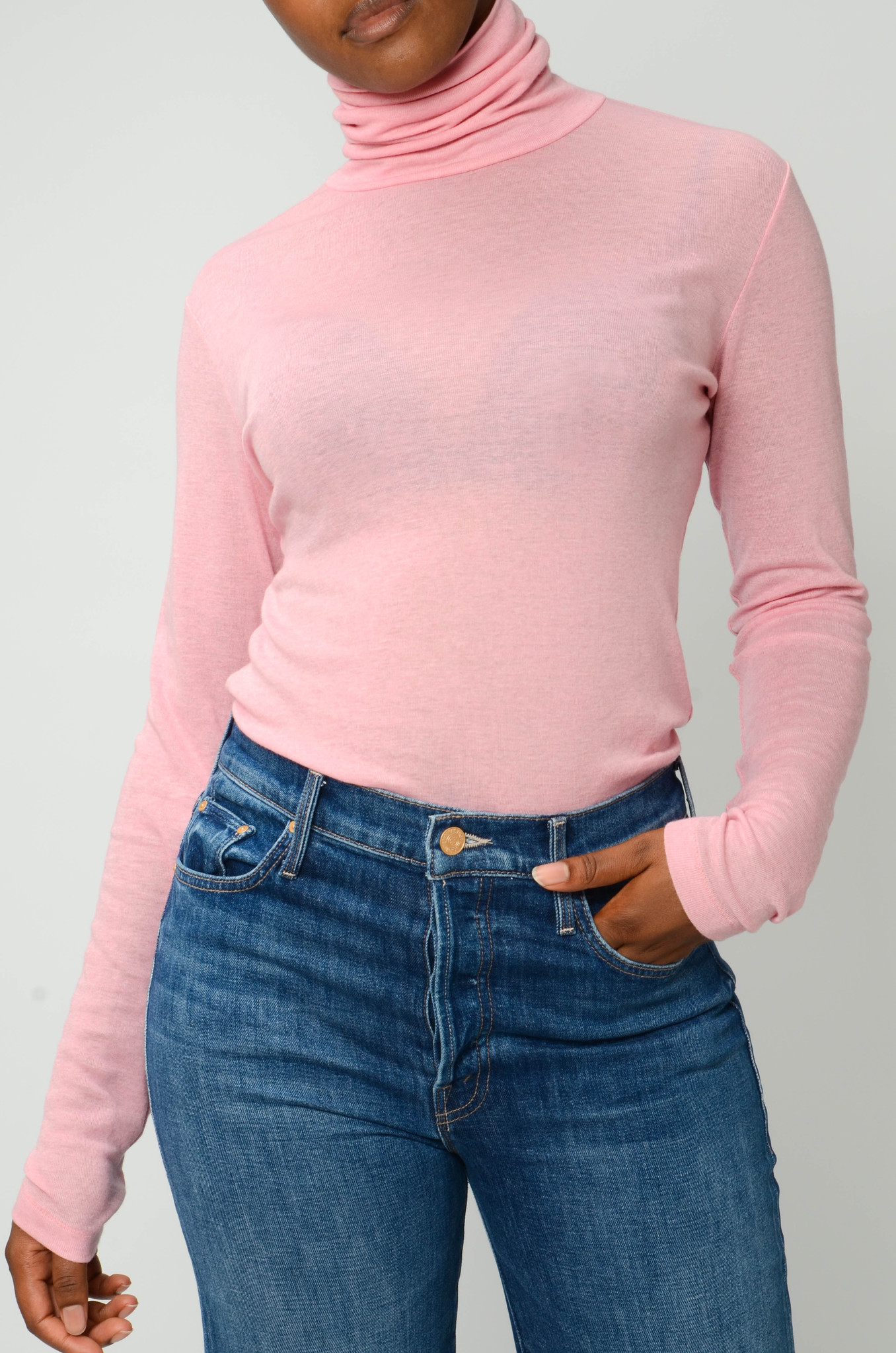 TURTLENECK IN CANDY PINK-5