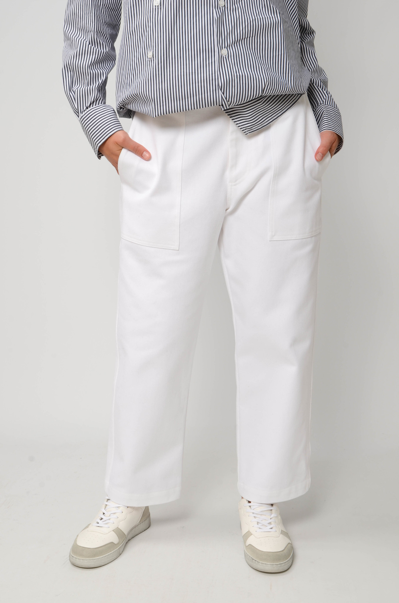CAMILLE TROUSERS IN WHITE-5