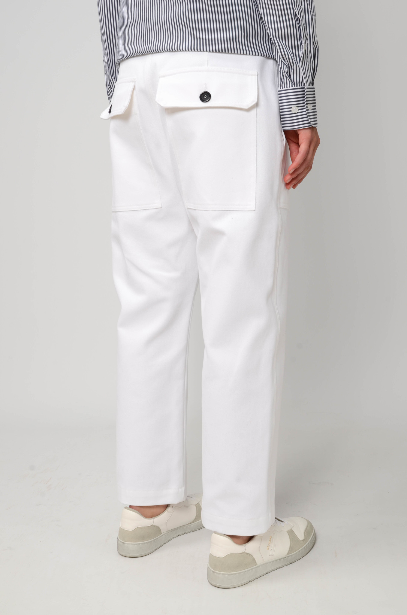 CAMILLE TROUSERS IN WHITE-4