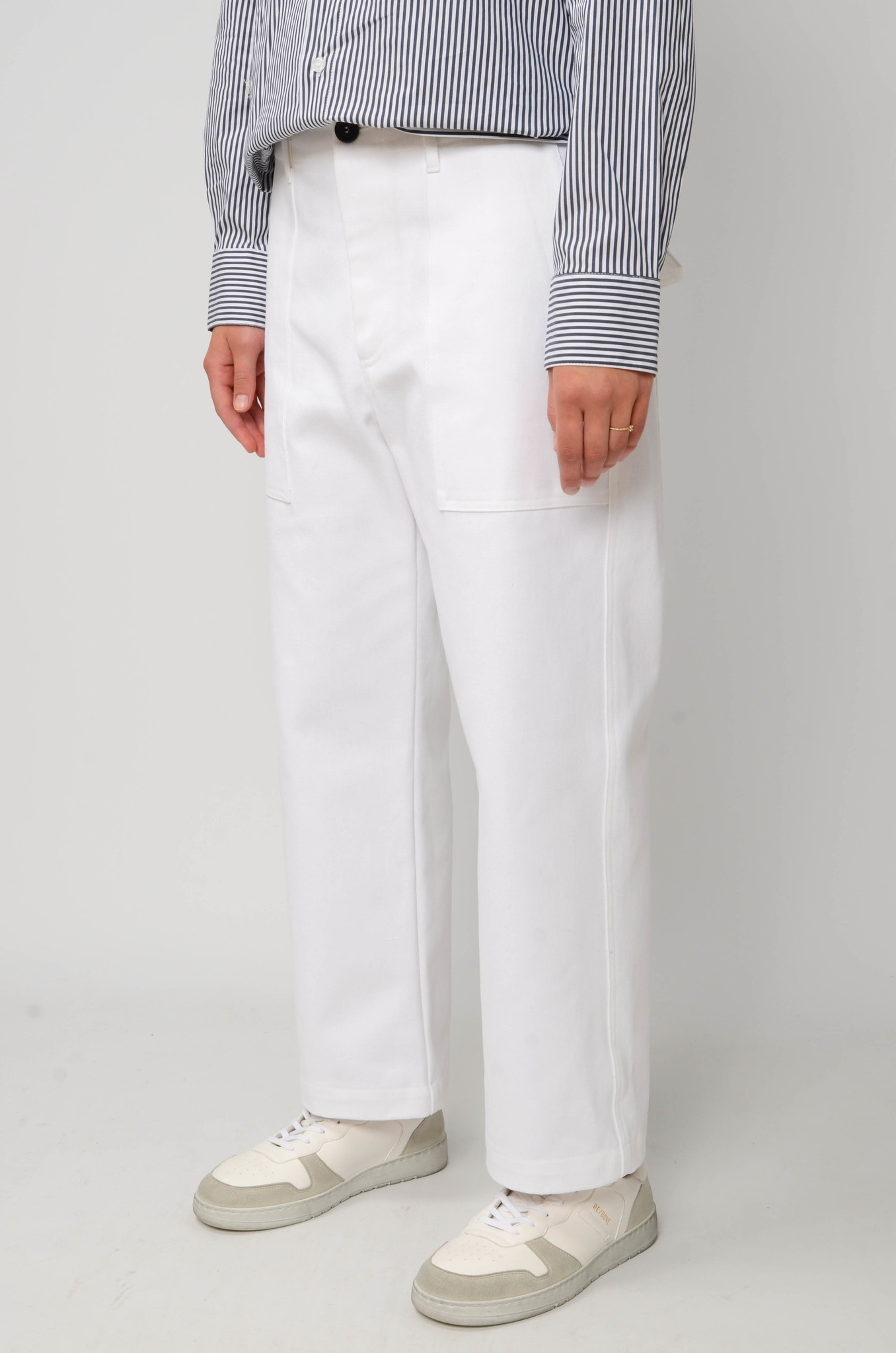 CAMILLE TROUSERS IN WHITE-3