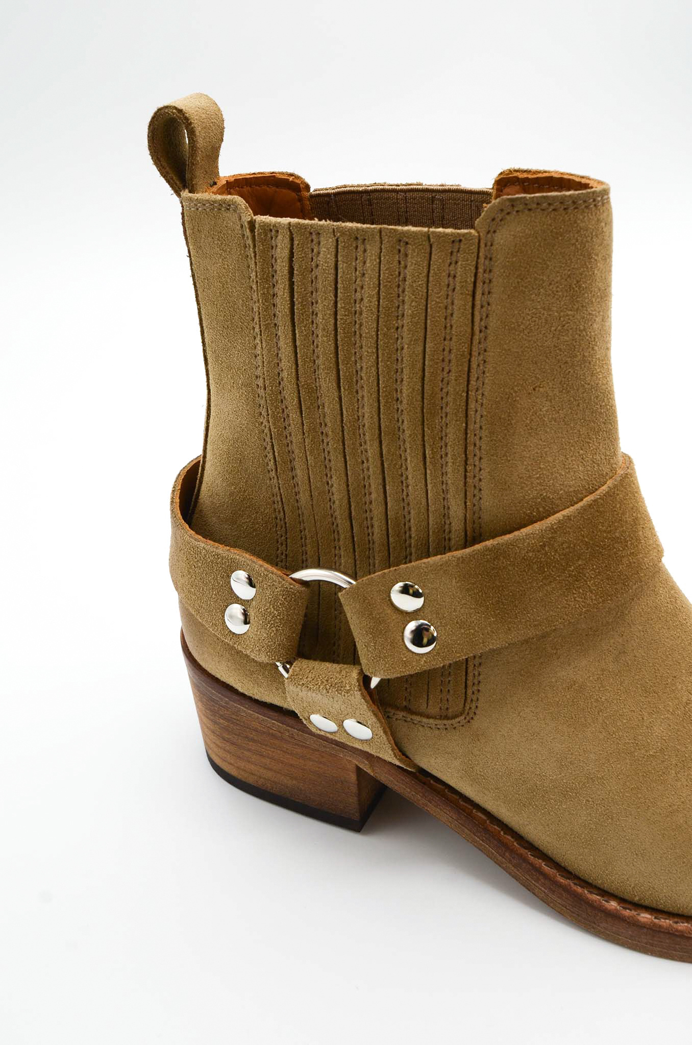 ANKLE BOOTS IN SAND-6