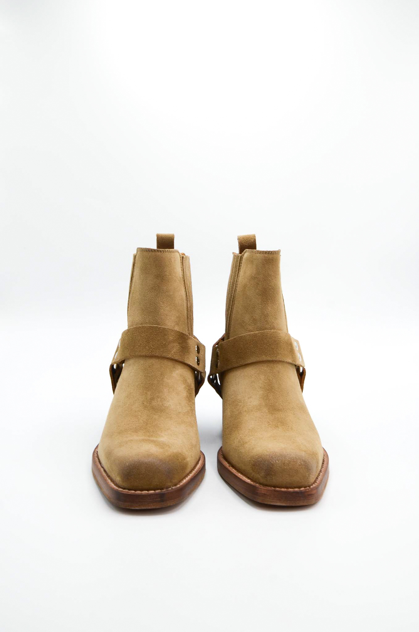 ANKLE BOOTS IN SAND-3