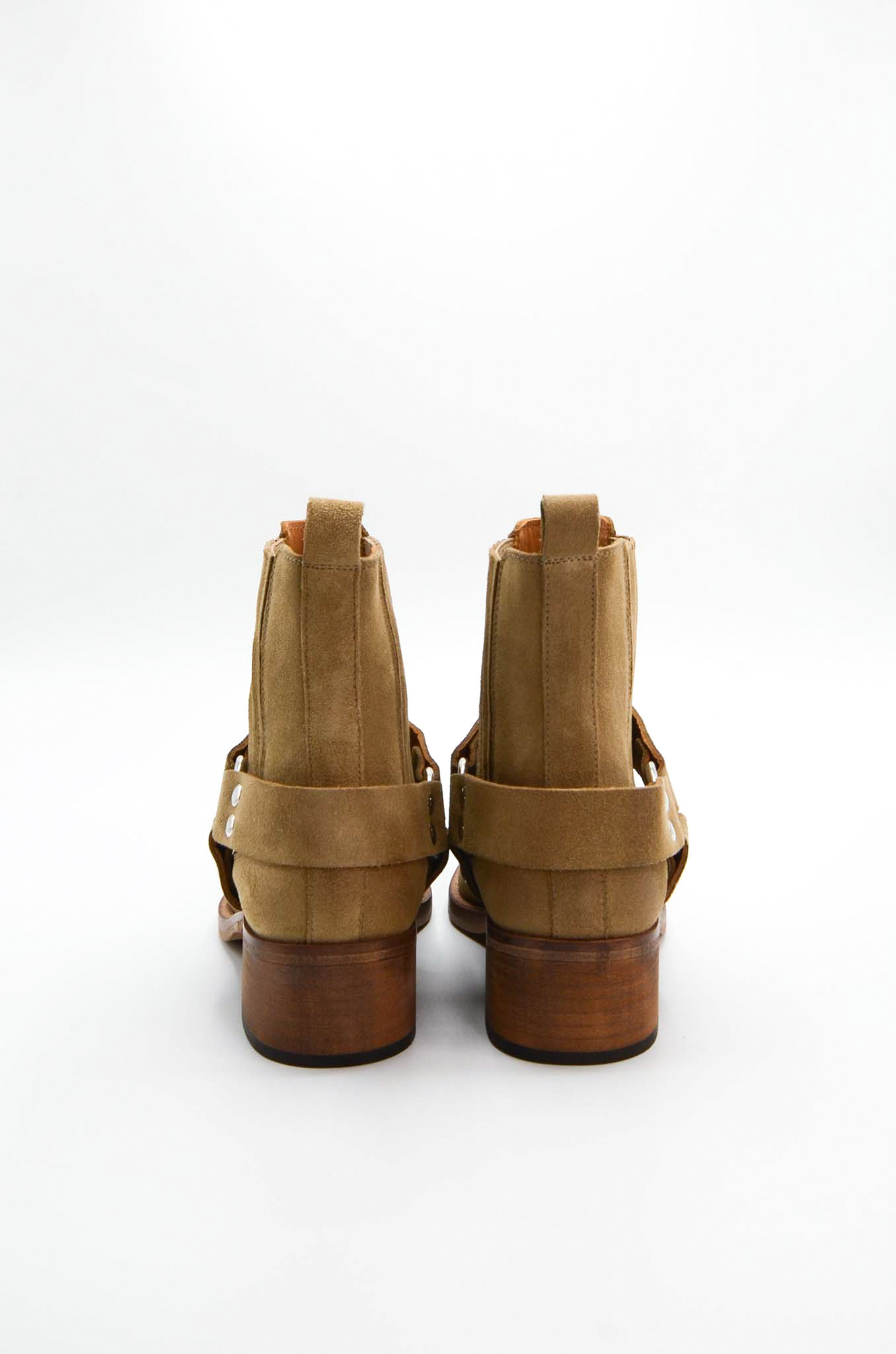ANKLE BOOTS IN SAND-5