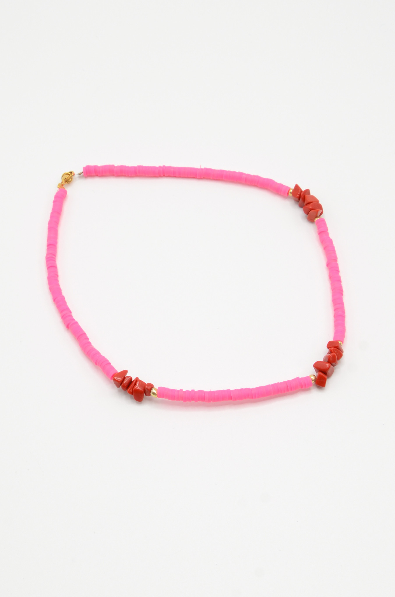 NEON PINK SURF NECKLACE-2