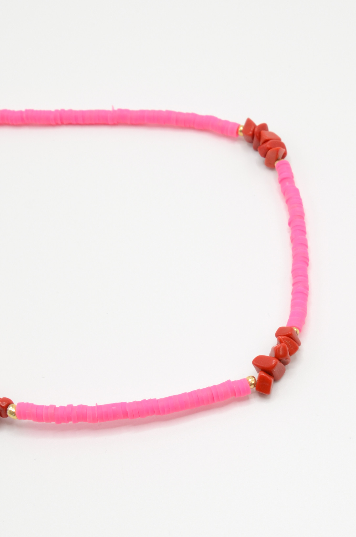 NEON PINK SURF NECKLACE-1