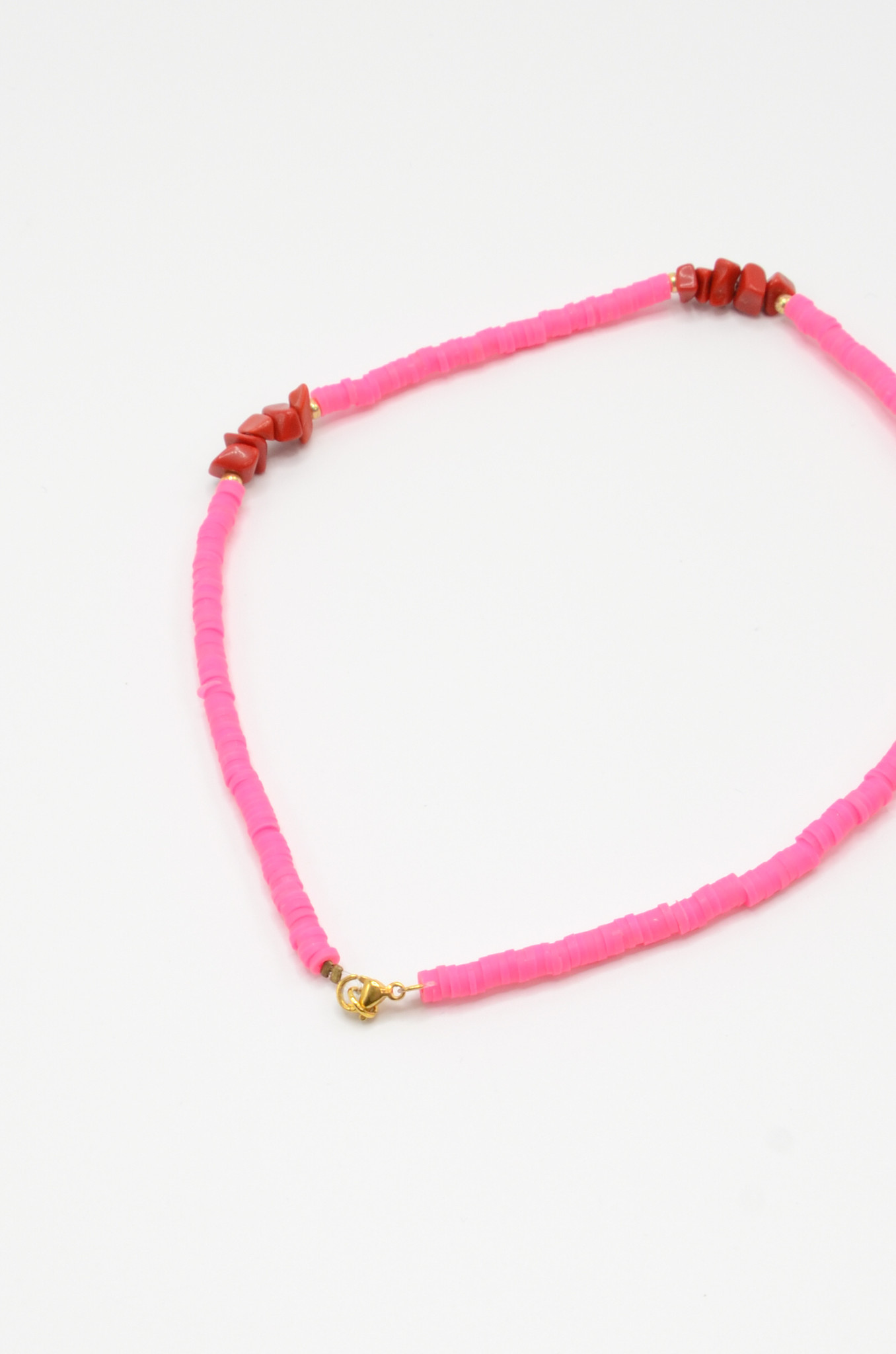 NEON PINK SURF NECKLACE-3