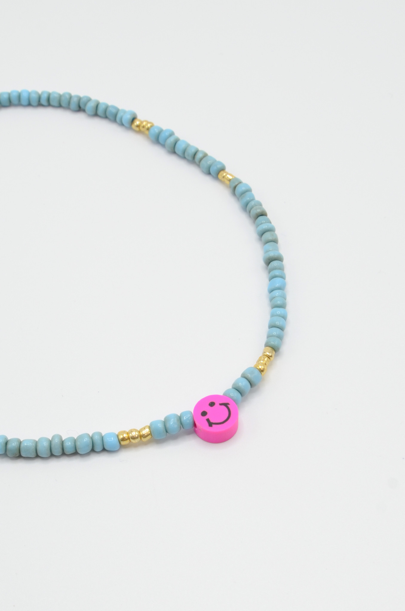 SMILEY BEAD NECKLACE-1