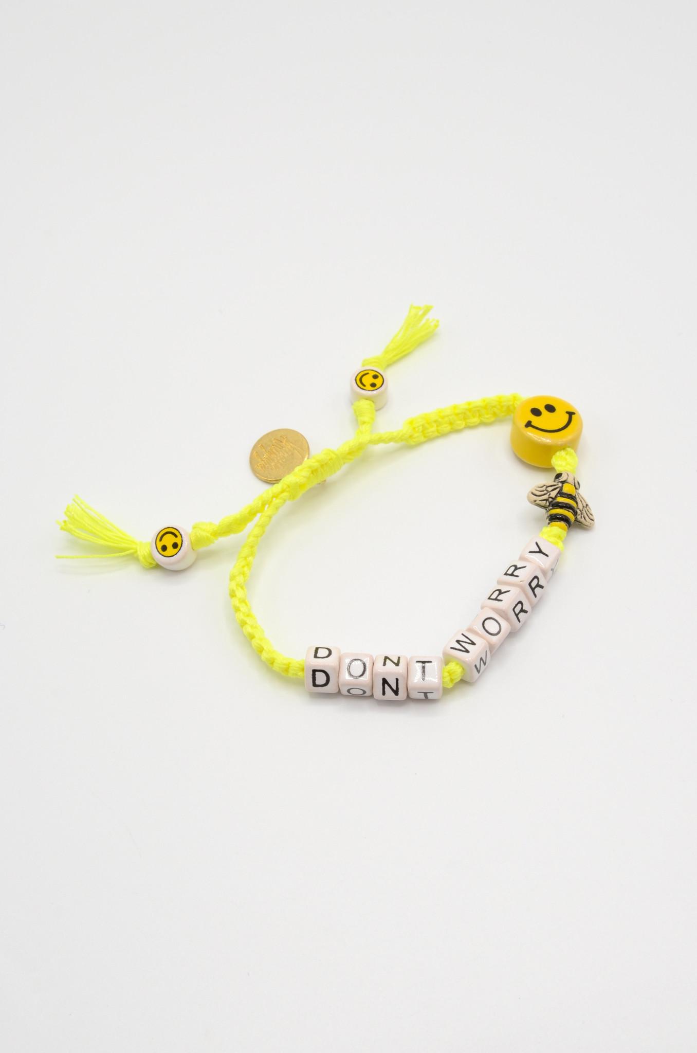 DON'T WORRY BEE HAPPY BRACELET-1