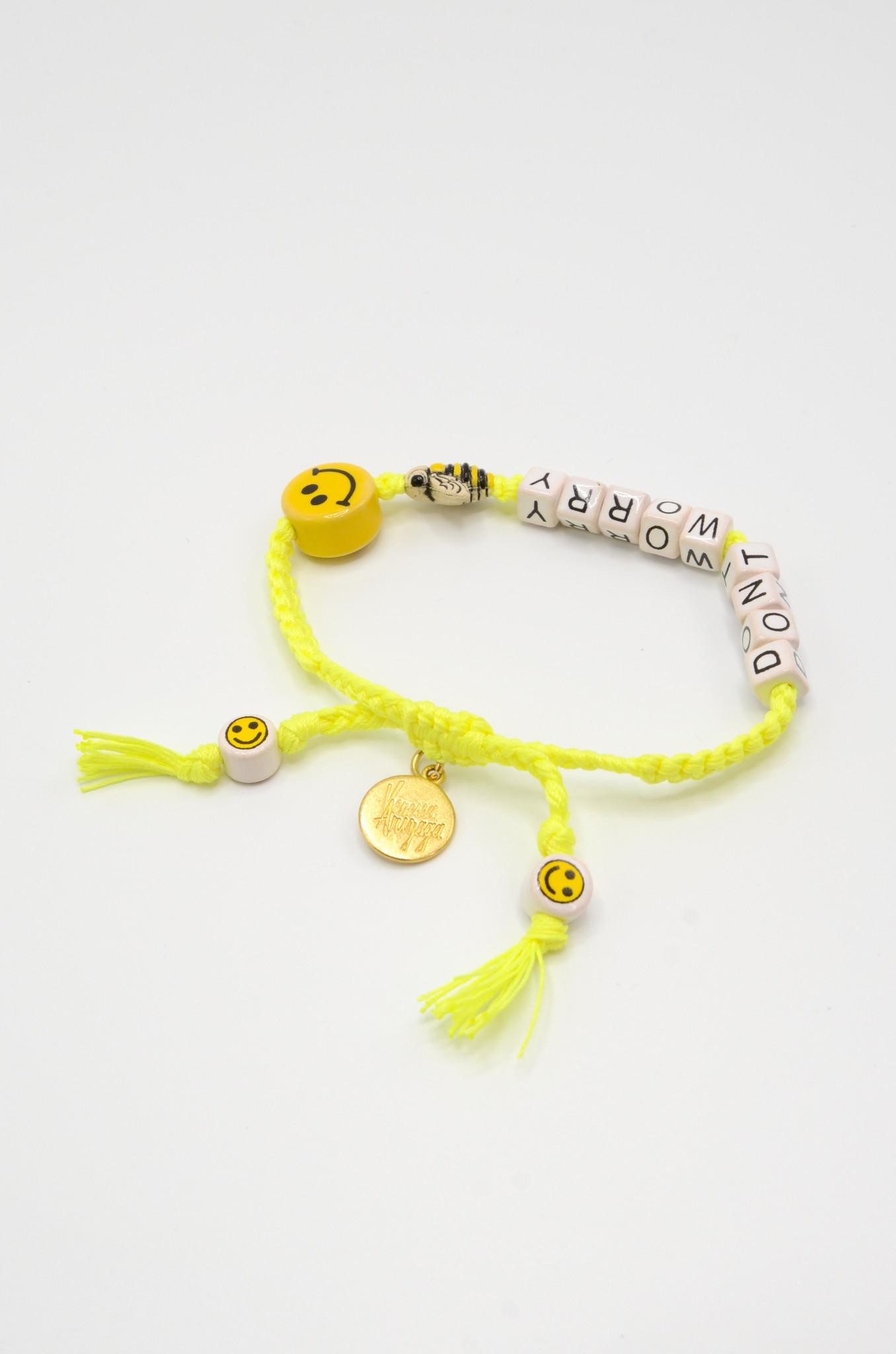 DON'T WORRY BEE HAPPY BRACELET-2