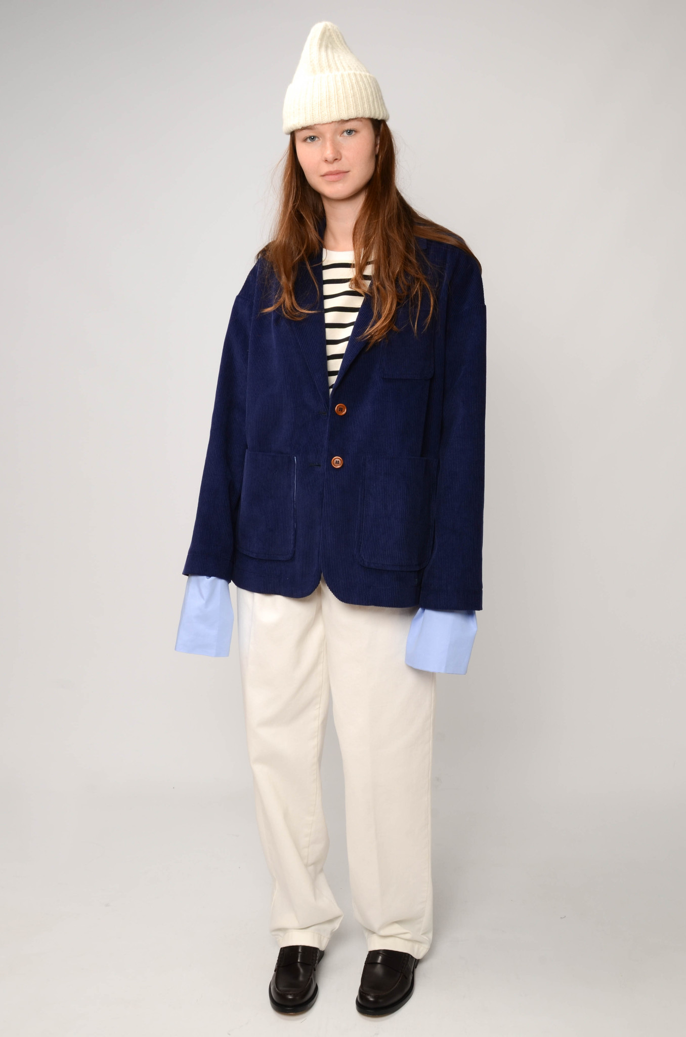 CAMILLE JACKET IN ROYAL BLUE-2