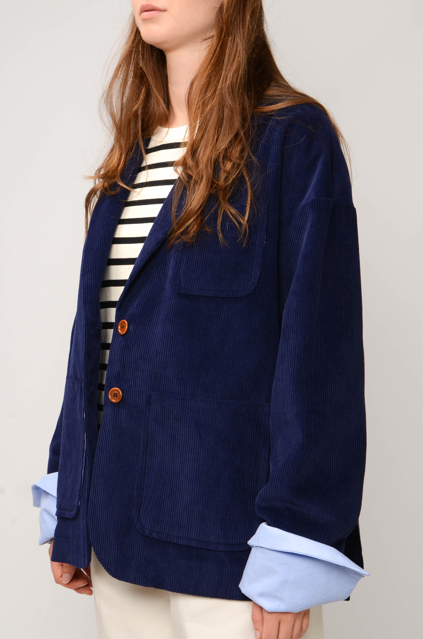 CAMILLE JACKET IN ROYAL BLUE-3