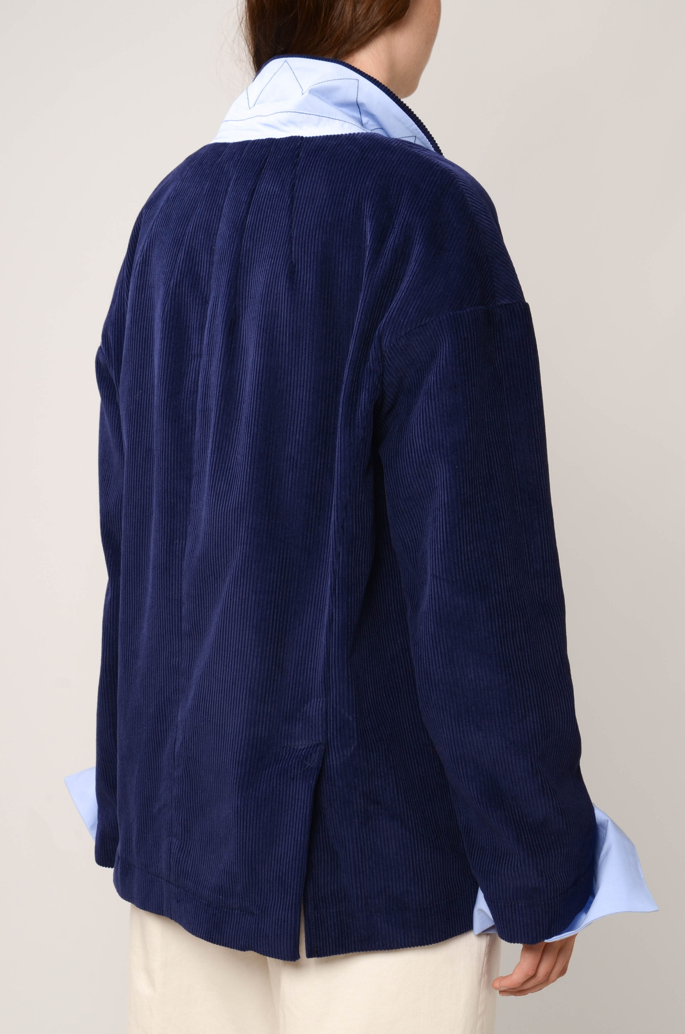 CAMILLE JACKET IN ROYAL BLUE-4