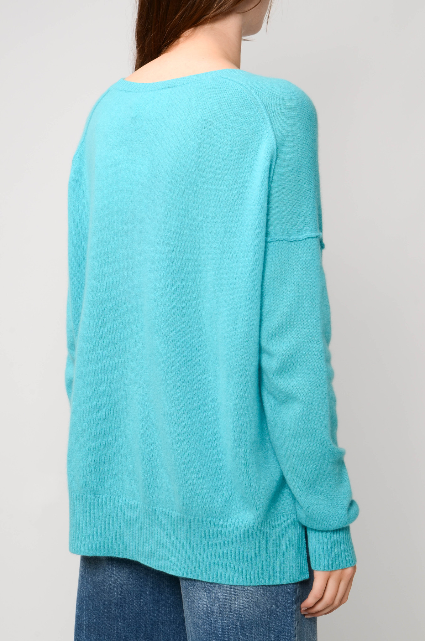 KENZA SWEATER IN TURQUOISE-4