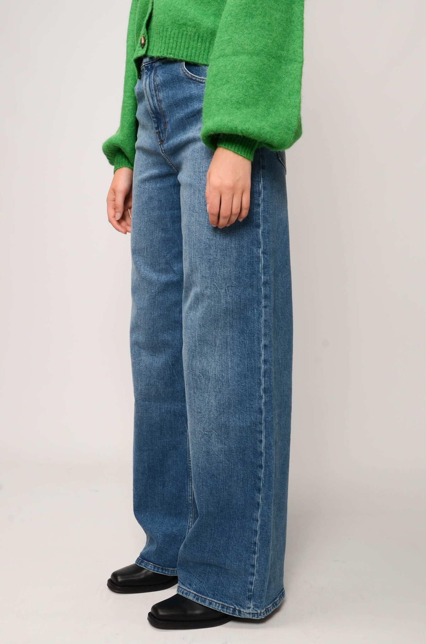 NINI JEANS IN WASHED DENIM-3