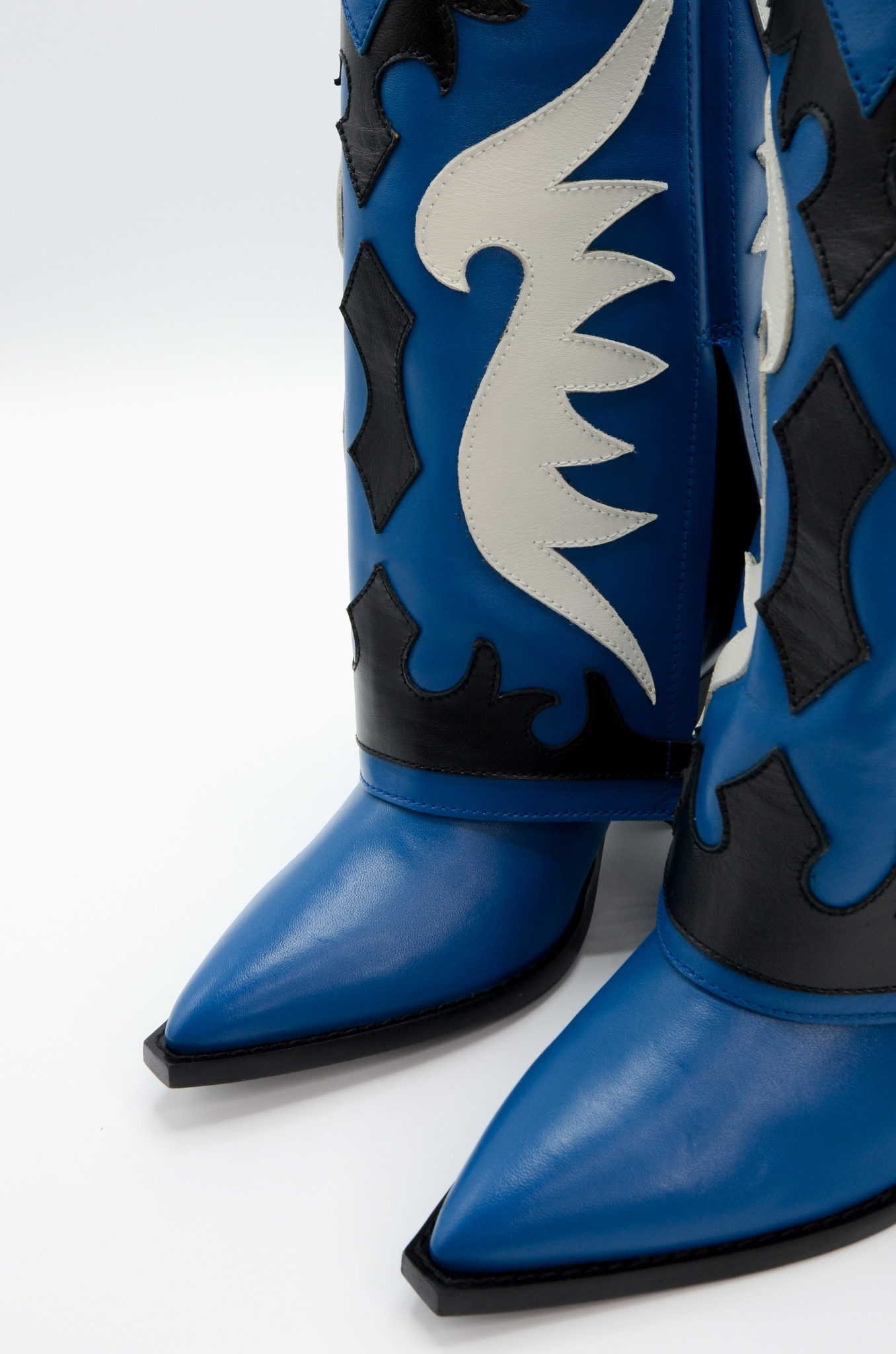 WESTERN STYLE BOOT IN BLUE-6