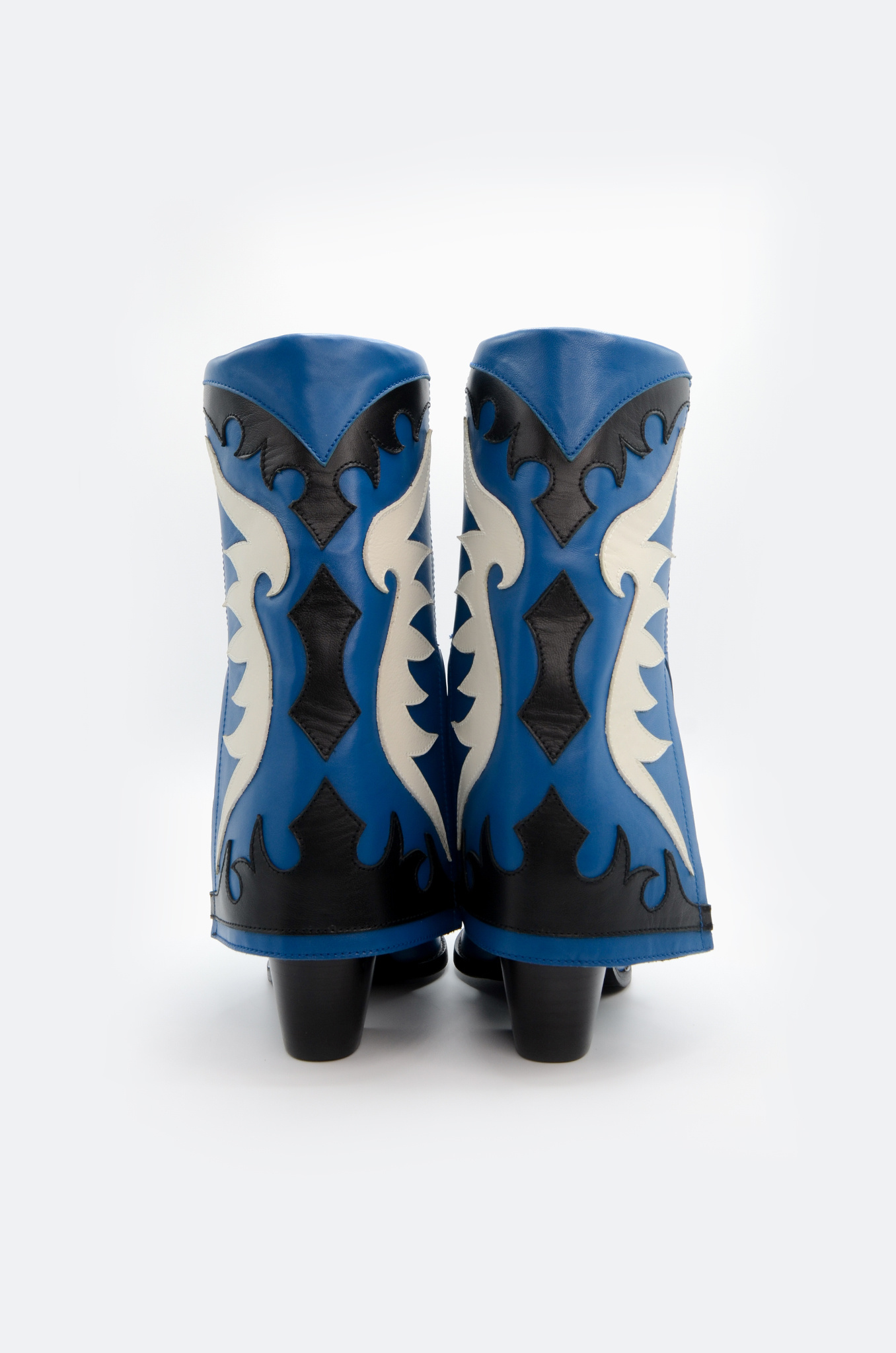 WESTERN STYLE BOOT IN BLUE-5