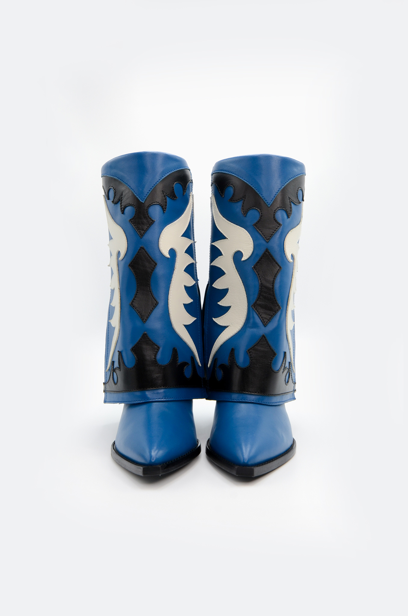 WESTERN STYLE BOOT IN BLUE-3