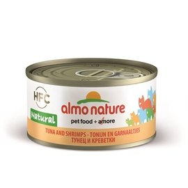 Almo 24x almo nature cat tonijn/garnalen