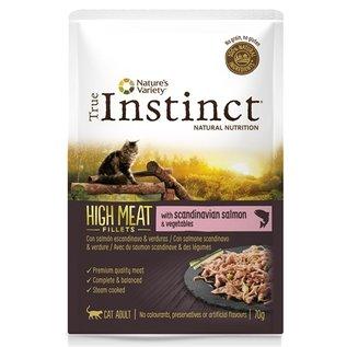 True instinct True instinct pouch high meat adult salmon fillets