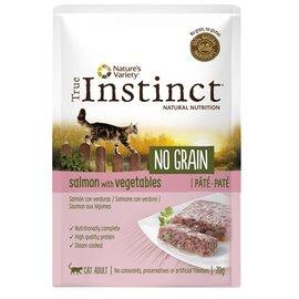 True instinct True instinct pouch no grain adult salmon pate