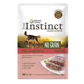 True instinct True instinct pouch no grain adult beef pate