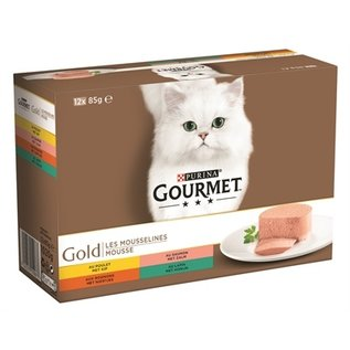 Gourmet Gourmet gold 12-pack fijne mousse