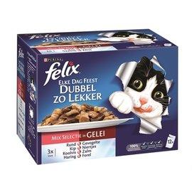 Felix Felix elke dag feest pouch dubbel zo lekker mix selectie in gelei