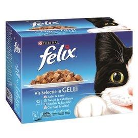 Felix Felix pouch vis selectie in gelei