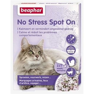 Beaphar No stress spot on kalmeert en stimuleert goed gedrag kat
