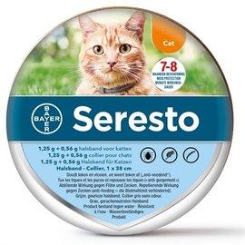 Bayer Seresto teken- en vlooienband kat