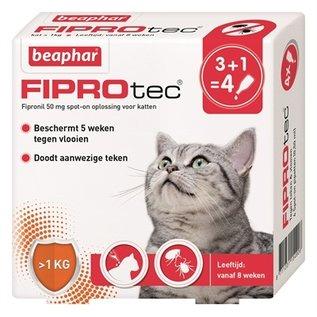 Beaphar Beaphar fiprotec kat tegen vlooien & teken