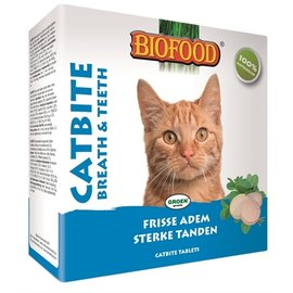 Biofood Biofood catbite kattensnoepje (tandverzorging)