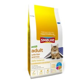 Smolke Smolke cat adult fish / rice