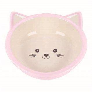 Happy pet Happy pet voerbak kitten roze / creme