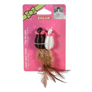 Zolux Zolux muis duo zwart / wit