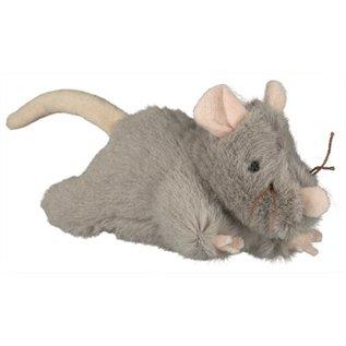 Trixie Trixie pluche muis met geluid