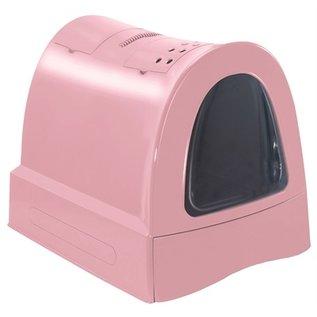 Imac Imac kattenbak zuma met schuiflade roze