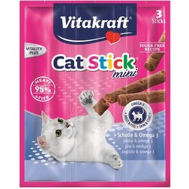 Vitakraft Vitakraft cat-stick mini schol / omega 3