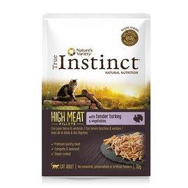 True instinct True instinct high in meat pouch adult turkey fillets