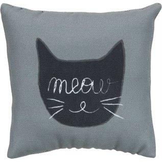 Trixie Trixie speelkussen meow stof met catnip