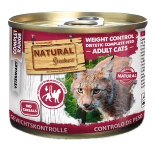 Natural greatness Natural greatness cat weight control dietetic junior / adult