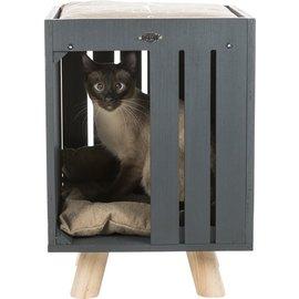 Trixie Trixie be nordic kattenhuis alva antraciet / zand