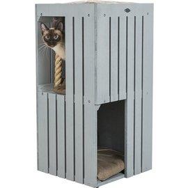 Trixie Trixie be nordic cat tower juna grijs